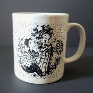 Bjorn Wiinblad   Juni Roser Calendar Month Mug
